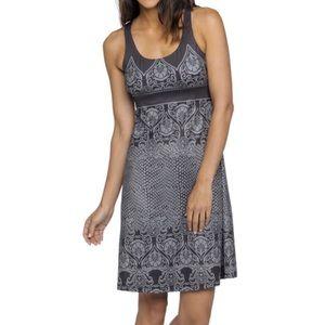 Prana Gray Jersey dress